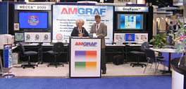 Amgraf exhibits at many trade shows